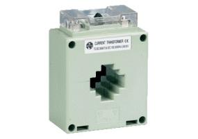 Tracon Sínre fűzhető áramváltó, 40-as sínre, Po:0,5 250A/5A, 3VA AV40250SH