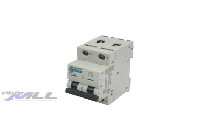 Tracon Egyenáramú kismegszakító PV rendszerekhez, 2 pólus, C kar. 10A, 440V DC DC-2C-10