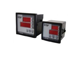 Tracon Digitális amper és voltmérő állítható áramváltó áttétellel 96×96mm, 500V AC, 0-9500/5A AC DTT-1-96