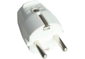 Tracon Szerelhető csatlakozó dugó, egyenes csatlakozással 1×csatlakozóalj, 250V, max.16A TCSD