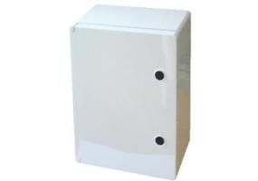 Tracon Műanyag elosztószekrény L×W×H=700×500×245mm, IP65, IK08, 1000V AC/DC, RAL7035 TME705025